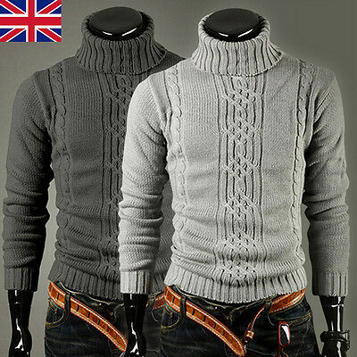 e34af721c8e Hiver Hommes Tricot Chaud Pull Tricot Pulls Cardigans Épais Pull-Over Haut