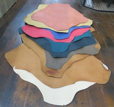 VEG TANNED KANGAROO HIDE skin many colours and sizes available. AUSSIE TANNED