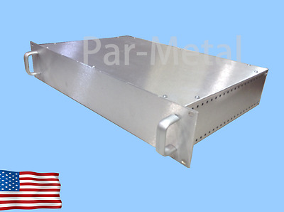 2U DIY All Aluminum Par Metal Rackmount Chassis Enclosure 12-19123N