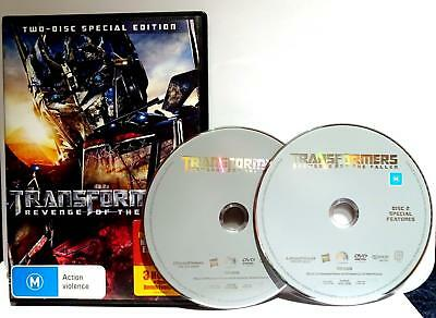 Transformers - Revenge Of The Fallen (DVD, 2009, 2-Disc Special Edition)