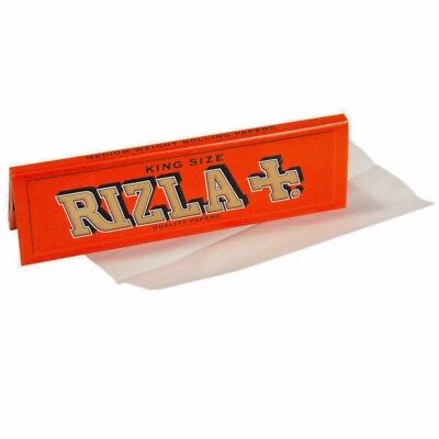 Rizla King Red Size Slim Paper Booklets Rolling Papers Genuine