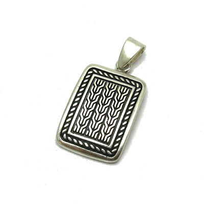 Sterling silver pendant solid 925 PE001244 EMPRESS