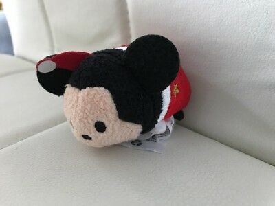 Disney Store Tsum Tsum  Christmas 2014 Mickey Mouse Excellent Condition Genuine
