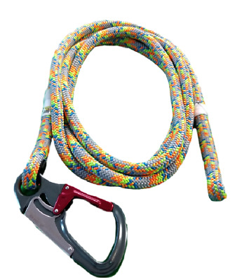 Tachyon Ash Lanyard/Flipline for Tree Climbing Replacement Lanyard Only