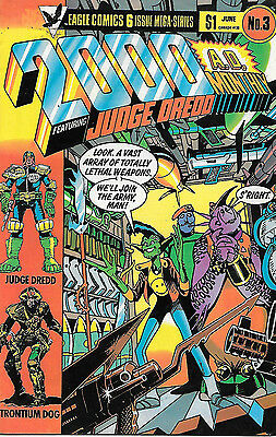 2000 AD Monthly #3 (1985 mini, Eagle Comics, vf- 7.5) full colour, 32 pages