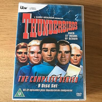 Thunderbirds The Complete Series DVD Box Set | 9 Disc Set | ALL 32 Episodes
