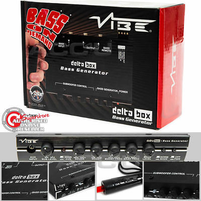 VIBE Audio DELTA Dose 12V AUTO SOUND SYSTEM IPOD IPHONE MP3 AUX-Eingang Bass