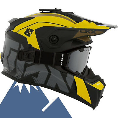 CKX 2018 Titan Altitude Modular Off-Road Snowmobile Helmet All Colors & Sizes
