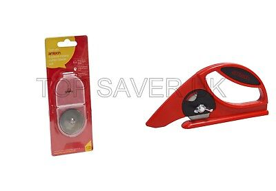 Amtech Multi Purpose Rotary Cutter For Cutting Lino, Carpet, Shrink Wrap& Nylon