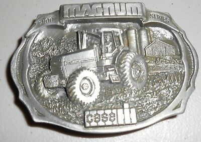 Vintage 1987 CASE IH Belt Buckle MAGNUM 7100 Series International Harvester Ltd