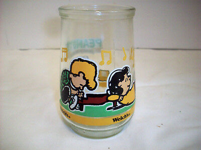 Welch's Peanuts Let's Just Play Along #5 Glass