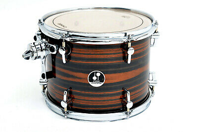 Sonor SSE 17 Special Edition 10x8 Tom Tom Ebony Stripes DEAL!!!