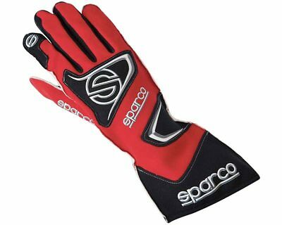 Sparco Tide K-9H Red Racing Gloves Handschuhe - Size XX-Small / 7 - For Kart, Mo