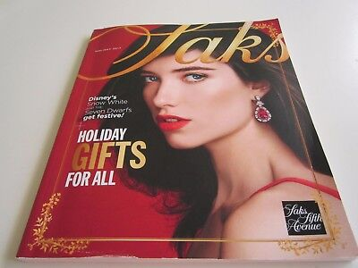 SAKS FIFTH AVENUE SFA The Holiday Book 2017 NEW