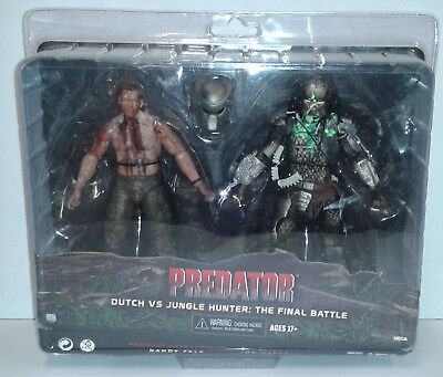 NECA Reel Toys PREDATOR DUTCH vs JUNGLE HUNTER: THE FINAL BATTLE Schwarzenegger