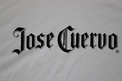 Jose Cuervo T Shirt White, Fruit of the Loom MEN'S SIZE LARGE  New Never Used