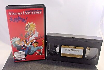VHS Videotape The Tenchi Universe Tenchi Muyo On Earth 1 With Poster Subtitled