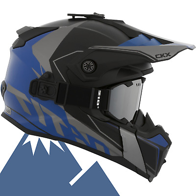 CKX 2018 Titan Cliff Modular Off-Road Snowmobile Helmet All Colors & Sizes