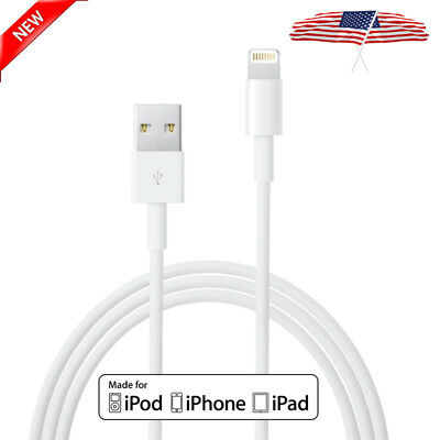 New Lightning USB Cable Charger For OEM Genuine Apple iPhone 7 8 6 6S Plus 5C X