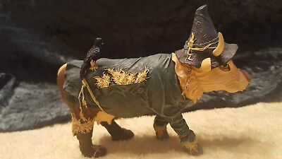 Cow Parade Wizard Of Oz Scarecrow Retired Figurine No Box