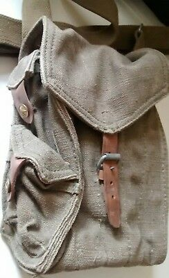 Soviet Russian AK-47 5 Cell Magazine Ammo Pouch 1954 RARITY Military