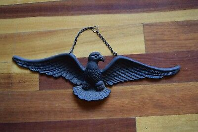 Cast Iron American Eagle Door Hanging Vintage with Chain For Hanging