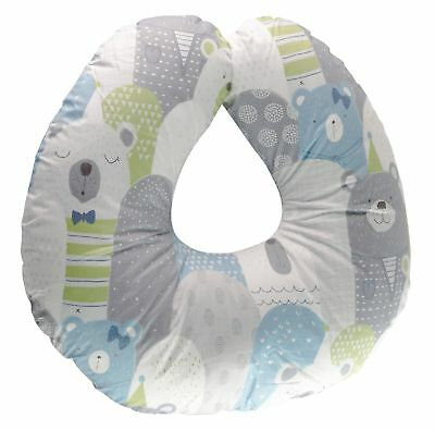 Bamboo Nursing Pillow Cover w/ Waterproof Layer | Antibacterial & Extra-Soft ...