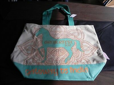 New 2017 Breyer Breyerfest Gateway to India Canvas Bag