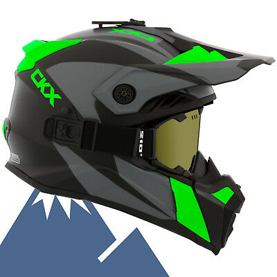 CKX 2018 Titan Sidehill Modular Off-Road Snowmobile Helmet All Colors & Sizes