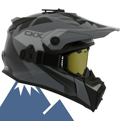 CKX 2018 Titan Abyss Modular Off-Road Snowmobile Helmet All Colors & Sizes