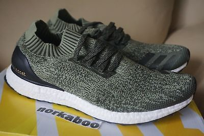 Adidas Ultra Boost Uncaged M Tech Earth Base Olive Green BB3901 sz 10.5 11  11.5