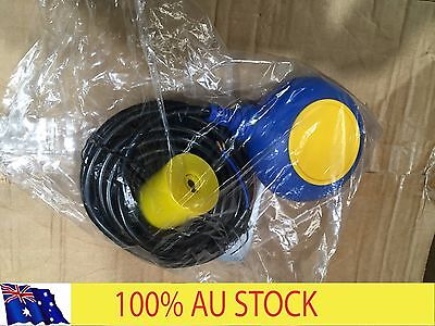 Float Switch water fluid level sump pit tank pump control 10m cable
