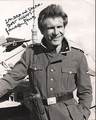 Harrison Ford. Authentic autograph. Signed photo. Star Wars. Indiana Jones.