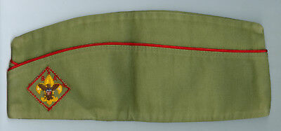 EXCELLENT Older Official Boy Scout Khaki Field Hat - SIZE EXTRA LARGE