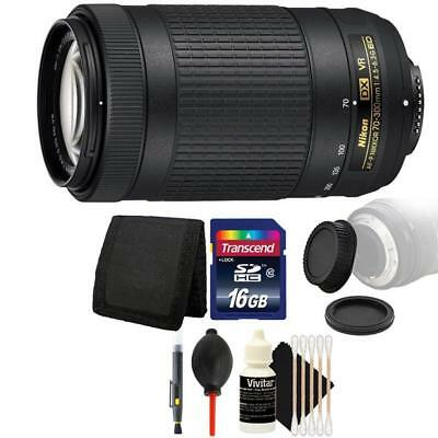 Nikon AF-P DX NIKKOR 70-300mm f/4.5-6.3G ED VR Lens + Accessory Kit