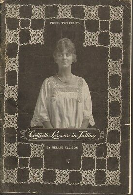 Corticelli Lessons in Tatting Laces & Vintage Garments copyright 1916
