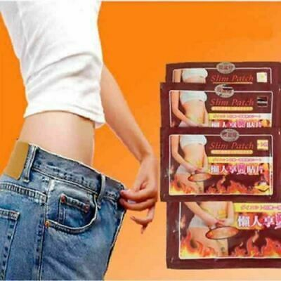 10pcs/bag Healthy Slimming Navel Stick Diet Weight Loss Slim Patches