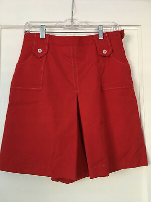 Vintage 1960s red shorts sailor size S/M