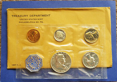 1957-P Us Mint Proof Set In Orginal Package