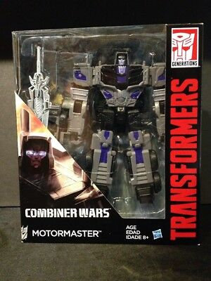 Hasbro 2016 Transformers Combiner Wars Voyager Class MOTORMASTER New In Box