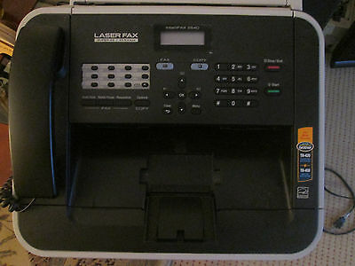 Brother Intellifax 2840 High Speed Laser Fax with New Toner,page count :18 only