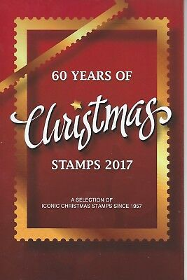 Australia 2017 60 Years of Christmas Mini Sheets Collection Lmt Edt 222/250