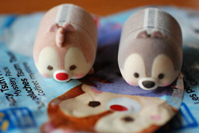 Disney fuzzy tsum tsum large - Chip and Dale (Walmart exclusive)