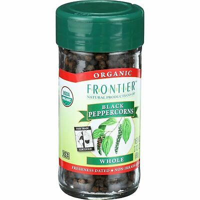 Frontier Herb Peppercorns - Organic - Fair Trade Certified - Whole - Black - 2.1