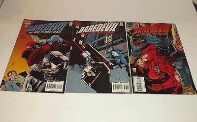 Marvel Daredevil comic lot of 3!! Issues 342, 343, and 346