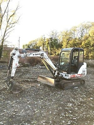 Bobcat 331G Excavator 3564 Hours Cab Thumb Ready 2 Work In Pa