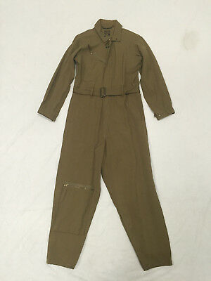 Original 1942 Contract Date Us Army Air Corps Type A-4 Flight Suit, Size 38