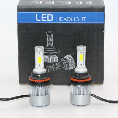 9004 HB1 72W 8000LM Car LED Headlight Conversion Bulbs Lamps COB Hi-Lo 6000K S2