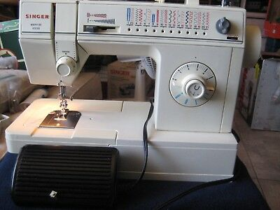 VINTAGE Singer Merrit 4538 Sewing Machine with Foot Control Pedal and Power Cord