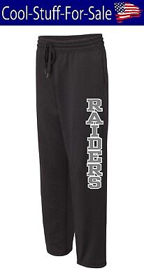 Oakland Raiders Football Unisex Performance Sweatpants with Pockets